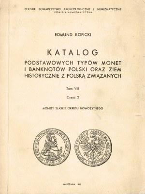 Katalog podstawowych typów monet i banknotów Polski oraz ziem hist. z Polską związanych