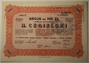 Hipolit Cegielski - 100 złotych 1929
