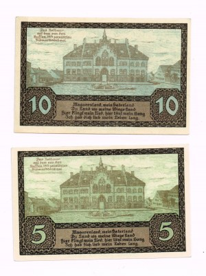 Pisz (Johannisburg Ostpr) 5, 10 Pfennig