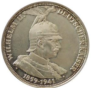 Medal, Niemcy Wilhelm II 1992 Srebro