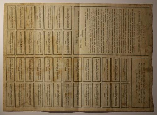 4% państwowa pożyczka premiowa 1920 r. na 1000 marek polskich