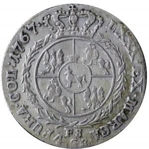 złotówka 1767 FS, Warszawa