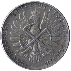 5 złotych 1928/39, Amrogowicz, Matka Boska i orzeł ze swastyką