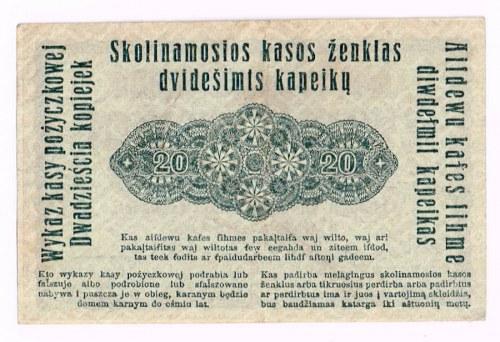 20 kopiejek 17.04.1916, Poznań
