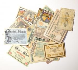 Niemcy, Zestaw 55 sztuk notgeldów