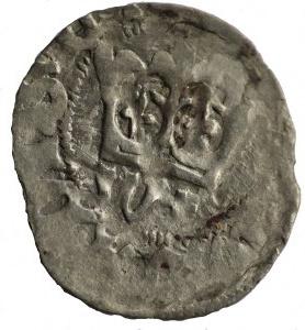 półgrosz koronny 1413-1414, Kraków