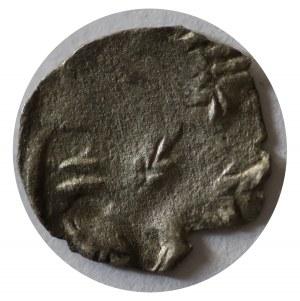 denar przed 1450, Pomorze Zachodnie, Pyrzyce