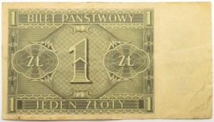Polska, II RP, 1 złoty 1938, seria Y, rzadkie