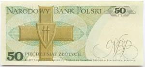 Polska, PRL, 50 złotych 1975, seria A - pierwsza seria, UNC