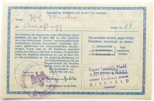 Niemcy, Pomoc dla narodu niemieckiego, 5 marek 1940/41, seria B, rzadkie