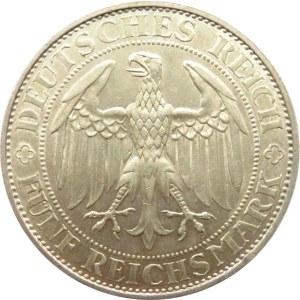 Niemcy, Republika Weimarska, 5 marek 1929 E, Drezno, Meissen, piękne