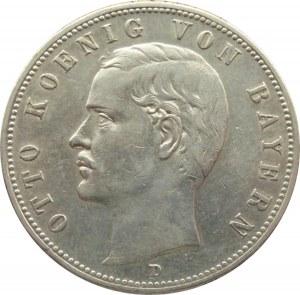 Niemcy, Bawaria, Otto 5 marek 1900 D, Monachium