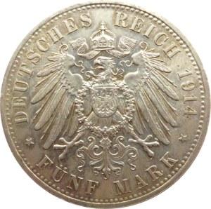Niemcy, Prusy, Wilhelm II, 5 marek 1914 A, Berlin