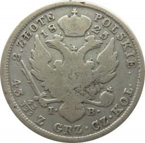 Aleksander I, 2 złote 1825 I.B., Warszawa