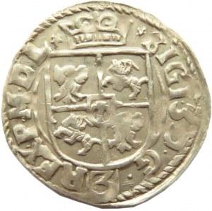 Zygmunt III Waza, półtorak 1615 haki, Kraków, UNC!!