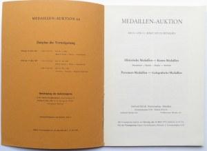 Katalog Aukcyjny, G. Hirsch - Medale, marzec 1970