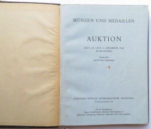 2 katalogi Aukcyjny, G. Hirsch - Monachium, czerwiec i październik 1965