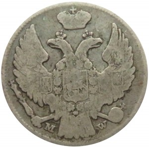 Mikołaj I, 15 kopiejek/1 złoty 1839 MW, Warszawa