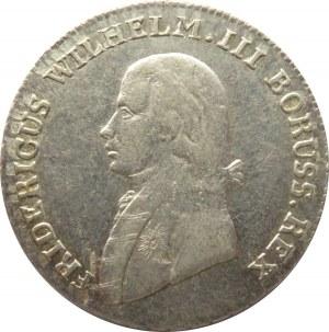 Niemcy, Prusy, 4 grosze 1803 A, Berlin, bardzo ładne