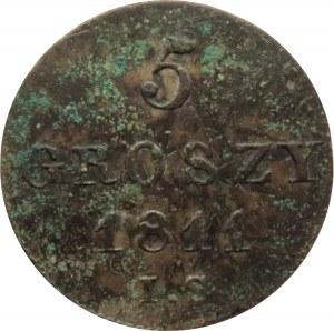 Księstwo Warszawskie, 5 groszy 1811 I.S., ładne