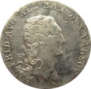 Księstwo Warszawskie, 1/3 talara (dwuzłotówka) 1812 I.B., ładna