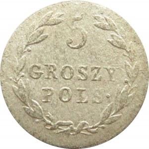 Aleksander I, 5 groszy 1819 I.B., Warszawa, ładne