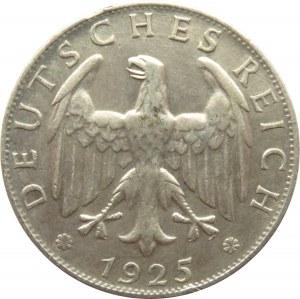 Niemcy, Republika Weimarska, 2 marki 1925 D, Monachium