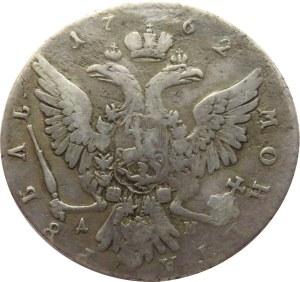 Rosja, Katarzyna II, rubel 1762 MMD, Moskwa