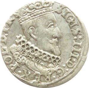 Zygmunt III Waza, grosz 1624, Gdańsk, ładny