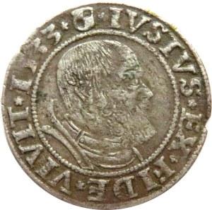 Prusy Książęce, Albrecht, grosz pruski 1533, Królewiec