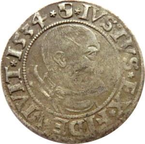 Prusy Książęce, Albrecht, grosz pruski 1534, Królewiec