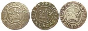 Zygmunt I Stary, lot trzech półgroszy 1507-1510, Kraków
