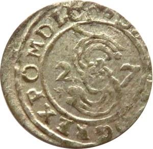Zygmunt III Waza, szeląg 1627, Bydgoszcz, rzadki (R3!)