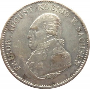 Niemcy, Saksonia, Fryderyk August, talar 1822 I.G.S., Drezno