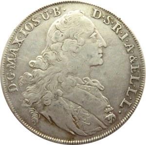 Niemcy, Bawaria, Maksymilian Józef, talar 1766, Monachium