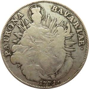 Niemcy, Bawaria, Maksymilian Józef, talar 1771 A, Berlin