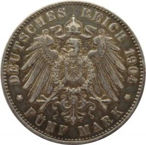 Niemcy, Hamburg, 5 marek 1904 J, Hamburg
