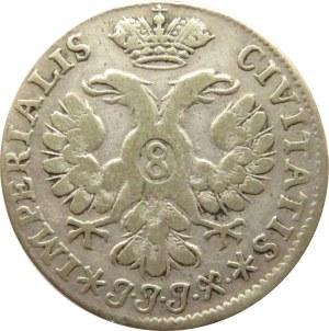 Niemcy, Lubeka, 8 szylingów 1730