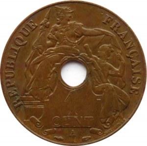 Indochiny Francuskie, 1 cent 1938 A, Paryż