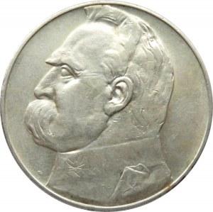 Polska, II RP, Józef Piłsudski, 10 złotych 1937, Warszawa
