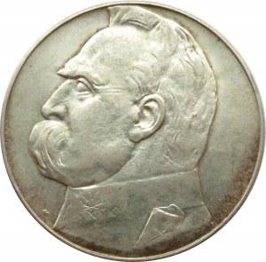 Polska, II RP, Józef Piłsudski, 10 złotych 1939