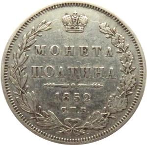 Rosja, Mikołaj I, połtina 1852 PA, Petersburg