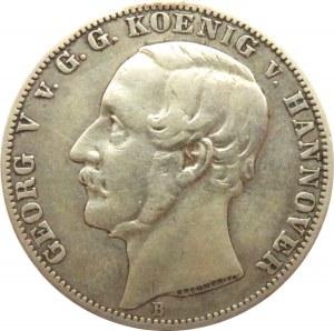 Niemcy, Hannover, Georg, talar 1866 B, Hannover