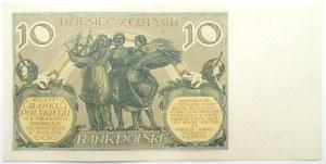 Polska, II RP, 10 złotych 1929, seria FV, UNC
