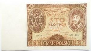 Polska, II RP, 100 złotych 1934, seria CW, Warszawa