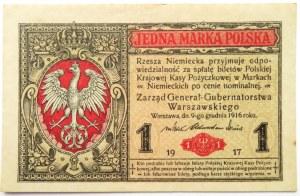 Polska, II RP, 1 marka 1916,