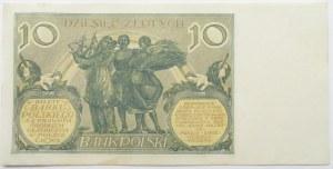 Polska, II RP, 10 złotych 1929, seria FY, UNC