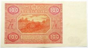Polska, RP, 100 złotych 1946, seria R, rzadkie