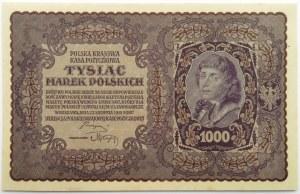 Polska, II RP, 1000 marek 1919, I serja DF - typ 7, UNC