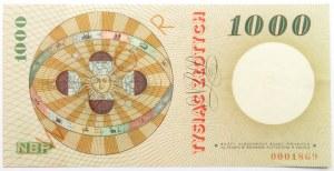 Polska, PRL, 1000 złotych 1965, seria A, SPECIMEN